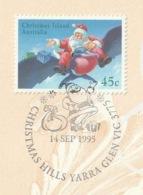 CHRISTMAS ISLAND/AUSTRALIA 1995 Christmas: Promotional Card CANCELLED - Christmas Island