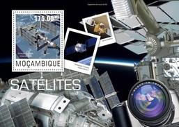 MOZAMBIQUE 2014 SHEET SATELLITES ESPACE SPACE ESPACIO Moz14428b - Mozambique