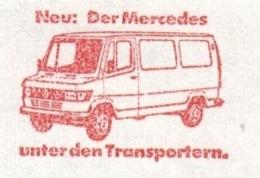 EMA FREISTEMPEL METER - MERCEDES 1979 ASCHAFFENBURG CAMION FURGONE - Trucks