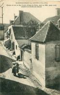 Cpa MARSANNAY LA COTE 21 Maison Où Est Né Mgr Favier, évêque De Pékin, Mort En 1905 - Otros Municipios