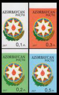 2017Azerbaijan 1212-15bStandard Edition. Coat Of Arms (edition 200) - Aserbaidschan