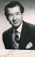 BALLET Spanish FLAMENCO Singer Juanito Valderrama - Autograph Dedicacee 1950' Photo 14x8cm - Fotos Dedicadas