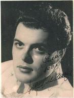 BALLET Spanish FLAMENCO DANCER Danseur ANGEL De MADRID ? - Autograph Dedicacee 1950' Photo 11x8cm Gay Int. - Fotos Dedicadas
