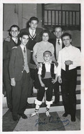 BALLET Spanish FLAMENCO DANCERS Danseuse JOSE ANTONIO And Others - Autograph Dedicacee 1960' Photo 14x8cm Gay Int. - Fotos Dedicadas