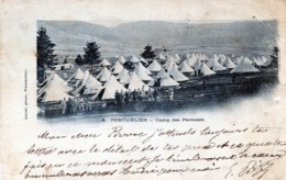 PONTARLIER , Camp Des Pareuses - Pontarlier
