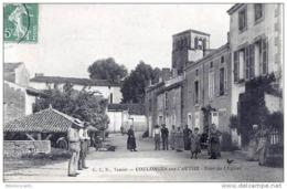 D79 - COULONGES Sur L'AUTIZE < Vue Animée < TOUR DE L'EGLISE - Coulonges-sur-l'Autize