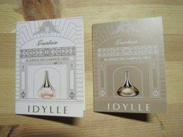 2 Cartes Parfumées Patch Idylle - Modern (from 1961)