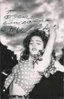 BALLET Spanish FLAMENCO DANCER Danseuse CHUNGA - Autograph Dedicacee 1964 Photo 14x9cm - Dédicacées