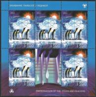 2011 Belarus Preservation Of Polar Regions And Glaciers: Penguins, Polar Bear Sheetlets  (** / MNH / UMM) - Preservare Le Regioni Polari E Ghiacciai