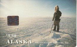 ALASKA - Alaskan Eskimo Hunter(complimentary), Tirage 3000, 12/93, Mint - Vereinigte Staaten