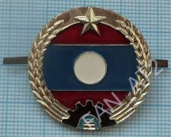 LAOS. Indochina. Military Hаt Cap Badge Cockade Army. Armed Forces. 1970-80s - Uniforms