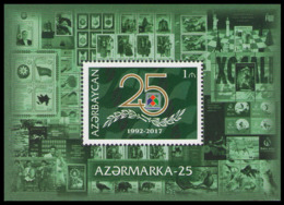 """2017Azerbaijan 1218/B18025 Years Of The Company """"Azerstamps"""" - Aserbaidschan"""