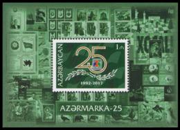 "2017Azerbaijan 1218/B18025 Years Of The Company ""Azerstamps"" - Azerbaïjan"