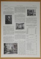 """1926 La Philatélie Théodore Champion 13 Rue Drouot Paris (Négociant En Timbres)-Nouveau Film Français """"Auber""""- Publicité - Reclame"""