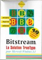 Bitstream La Solution TrueType Pour Windows 3.1 (1992, TBE) - Autres