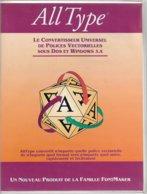 FontMaker AllType 2.01/2.05 Pour DOS Et Windows 3.x (1992, TBE+) - Autres