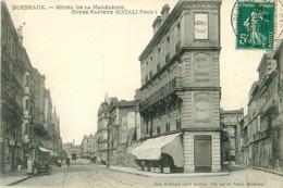 Cpa BORDEAUX 33 Hôtel De La Madeleine - Cours Pasteur - ( CATALI Propriétaire ) - Bordeaux