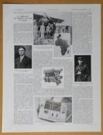 1928 Notre Industrie Aéronautique La Fabrication Des Moteurs D'aviation En France Renault-Commandant Dagnaux...Publicité - Reclame