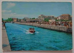 """RICCIONE -DARSENA - Motoscafo, Insegna """"Vietato Fare Il Bagno - Vg R2 - Rimini"""