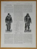 1928 Le Tour Du Monde De Costes Et Le Brix (Aéronautique - Aviation) - Talons Fixes Wood-Milne - Publicité - Reclame