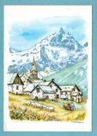 CP Arts - La Vie En Montagne Aquarelle Christian Burdet - Editions Mythra - Peintures & Tableaux