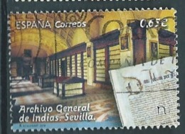 ESPAGNE SPANIEN SPAIN ESPAÑA  2018 ARCHIVO GENERAL DE INDIAS. SEVILLA USED ED 5265 YV  5010 MI 5305 SC 4313 - 1931-Today: 2nd Rep - ... Juan Carlos I