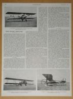 1927 Notre Industrie Aéronautique-Notre Aviation Commerciale (Goliath-Farman-Bréguet-Aéroport Du Bourget...) Publicité - Reclame