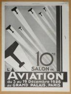 1926 Publicité 10me Salon De L'aviation Du 3 Au 19 Décembre Au Grand Palais Paris - Molinard Jeune Parfumeur Grasse - Reclame