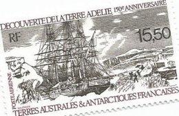 111  Découverte De La Terre Adélie   Luxe Sans Charniére (clascamrou20) - Poste Aérienne