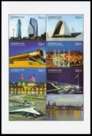 2017Azerbaijan 1323-30KLArchitecture - Sonstige