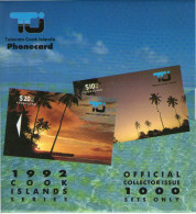Cook Islands - 1992 First Issue Set (2) - COK1/2 - Collector Pack - Cookeilanden