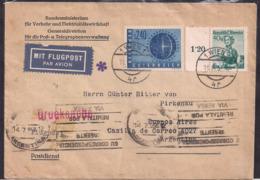 Österreich - 1958 - Brief - Argentinien - 1945-.... 2. Republik