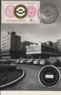 Automobile  HONGRIE CLUB   Carte Maximum 1975 - Cars