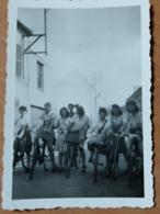 PHOTO ORIGINALE _ VINTAGE SNAPSHOT : VELO _ BICYCLETTE _ SCENE De VIE - Ciclismo