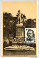 Cpa Antwerpen Standbeeld Jacob Jordaens - Oblitération Spéciale - Maximumkarten (MC)