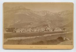 ANCIENNE PHOTO ISERE VILLARD DE LANS BE VOIR DETAILS - Lieux