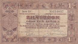 Pays-Bas - Billet De 1 Gulden Zilverbon - 1er Octobre 1938 - [2] 1815-… : Koninkrijk Der Verenigde Nederlanden