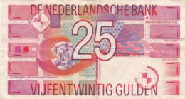 Pays-Bas - Billet De 25 Gulden - 5 Avril 1989 - P100 - [2] 1815-… : Reino De Países Bajos