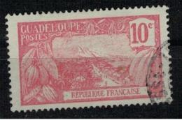 GUADELOUPE         N°     YVERT    59          OBLITERE       ( Ob  5/42 ) - Guadeloupe (1884-1947)