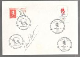 23581 - Signature  Manuscrite PIERRE BEQUET - Marcofilie (Brieven)