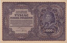 Pologne - Billet De 1000 Marek - 23 Août 1919 - Tadeusz Kosciuszko - Pologne