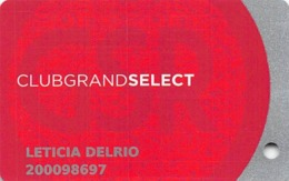 Grand Sierra Casino - Reno, NV - Slot Card With 02 Over Mag Stripe - Casino Cards
