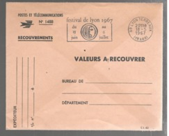 23593 - FESTIVAL DE LYON  67 - Postmark Collection (Covers)