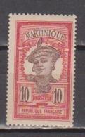 MARTINIQUE              N° YVERT     65  NEUF SANS CHARNIERES     ( Nsch 01/24 ) - Martinique (1886-1947)