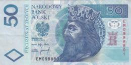 Pologne - Billet De 50 Zlotych - Kazimierz III Wielki - 25 Mars 1994 - Polonia