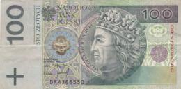 Pologne - Billet De 100 Zlotych - Wladyslaw II Jagiello - 25 Mars 1994 - Pologne
