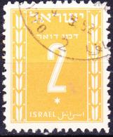 Israel - Portomarke/Taxe (MiNr: 6) 1949 - Gest Used Obl - Impuestos
