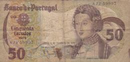 Portugal - Billet De 50 Escudos - 1er Février 1980 - Infanta D. Maria - Portogallo
