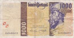 Portugal - Billet De 1000 Escudos - 31 Octobre 1996 - Pedro Alvares Cabral - Portogallo