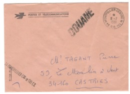 23603 - DOUANE - Marcofilie (Brieven)